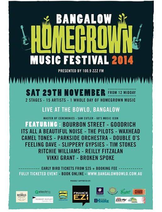 BOURBON STREET @ Bangalow Home Grown Music Festival