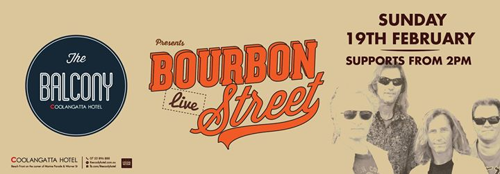 Bourbon Street LIVE at The Coolangatta Hotel (The Balcony)